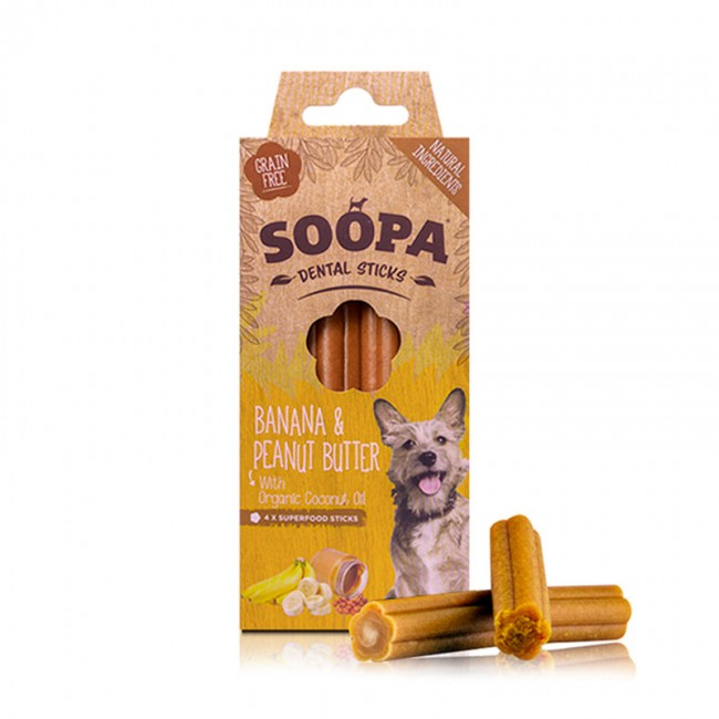 Soopa BANANA & PEANUT BUTTER Sticks
